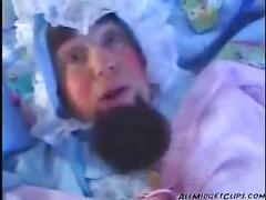 Babysitter fucked by midget midget dwarf cumshots...