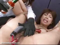 Japanese bondage sex - extreme bdsm punishment of asari (pt. 8)