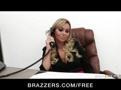 Brazzers - busty office exec abbey brooks fucks her worker