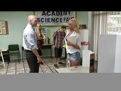 Brazzers -  blonde student alexis monroe fucks her teacher
