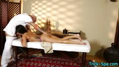 Teen tricked by masseur
