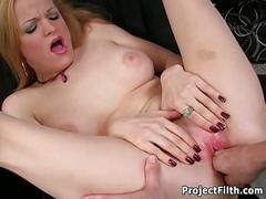 Janessa fingered before her lesson