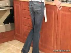 Kitchen striptease
