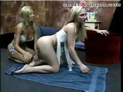 lesbian, blonde, fetish, footfetish