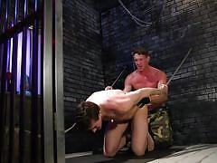 Jack gets whipped, stretched and fucked