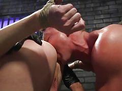 ass fingering, bdsm, whipping, rope bondage, rimjob, anal dildo, bound gods, kink men, jack hunter, pierce paris