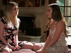 Blake eden and capri anderson's first lesbian fun