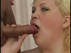 Blonde bbw with tiny tits fucking