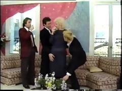 Lynn armitage stocking gangbang