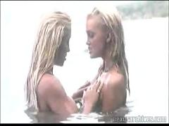 Devon and jill kelly at the beach