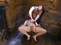 Brutal cock torture for brian bonds