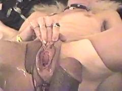 Bizarre insertions - female ejaculation