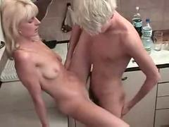 Horny mommy and boy