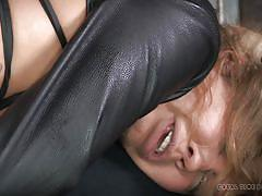 milf, tattoo, bondage, bdsm, big tits, stockings, vibrator, riding cock, brown hair, real time, real time bondage, rain degrey