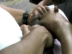 indian, footjob, feet, toes, soles, toenails