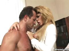 blonde, hardcore, office sex, pornstar, brooklyn lee,
