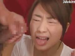 Japanese blowjob and facial compilation n_433