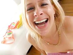 amateur, blonde, blowjob, hd, milf, peyton leigh, casting, deepthroat, mom, sloppy blowjob