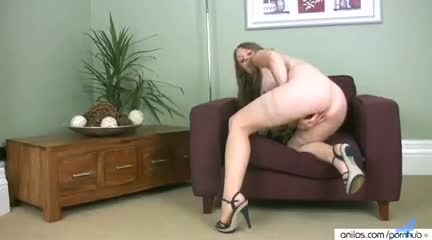 masturbation, mature, milf, brunette, mature-mom, cougar, stockings, heels, solo, fingering
