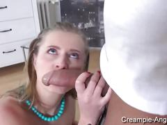 Aria logan - creampie dinner
