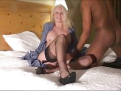 Mature american mum rikki loves black cocks