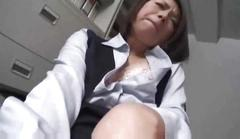 Japanese milf makes porn