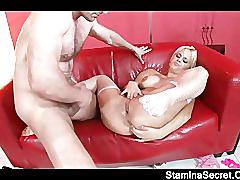 Two hot lesbians play their toys2