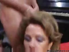 50yo bukkake mature mature porn granny old cumshots...