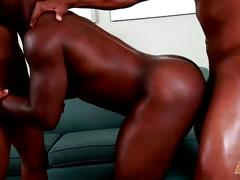 hunks, black men, big cocks, threesome, amateurs, anal, hardcore,