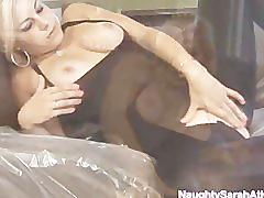 She is squirting so high and loud