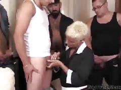Sexy granny claudia dei gangbang mature mature porn...