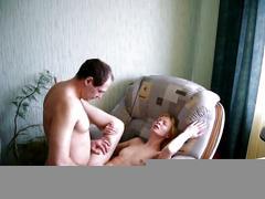 Fucking my wife on armchair 2
