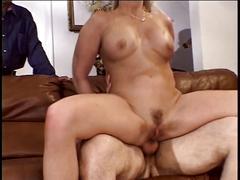 Hottie surprised by big cock