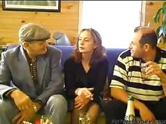 Sharing his wife with old man mature mature porn...