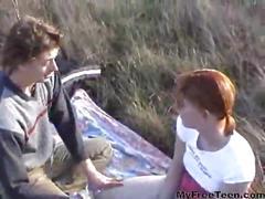 Dutch kim in the grass teen amateur teen cumshots...