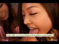 Akiho yoshizawa naughty chinese model has a lesbian...