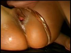 German gangbang girl in pussy bukkake cream