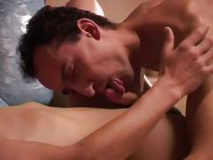 Throatfull of big cock skinny gay twinks hardcore anal whacking