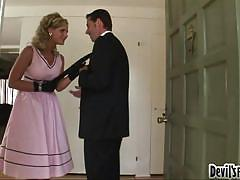 blonde, babe, retro, rimjob, stockings, office, pussy licking, roleplay, black gloves, devil's film parodies, fame digital, jack vegas, phoenix marie