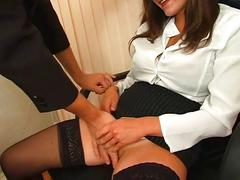 Hot russian office mature