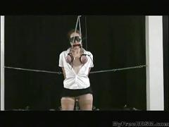 Breast bondage smg bdsm bondage slave femdom domination
