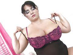 Big boobs mature slut masturbating.
