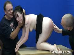 Sex slaves submission and rough blowjob of hardcore masochist fae corbin