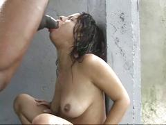Mauritius girl having sex in rain...crazy and hot