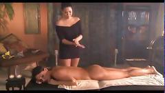 Exsotic lesbian massage
