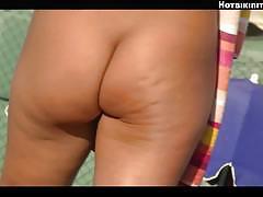 Sexy nude beach milfs voyeur spy