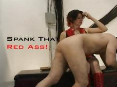 Mistress widow - otk spanking