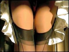 Sexy satin panties