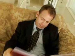 Comendo a secretaria - video porno