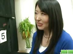 Japanese mature wife gets fucked hard in the game.